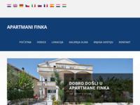 Slika naslovnice sjedišta: Apartmani Finka - VODICE (http://www.Apartmani-Finka.hr)