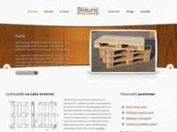 Slika naslovnice sjedišta: Slišurić - drvna industrija (http://www.proizvodnja-slisuric.hr)
