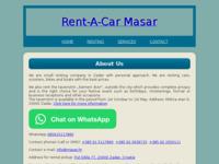 Slika naslovnice sjedišta: Rent-a-Car Masar (http://www.masar.hr)