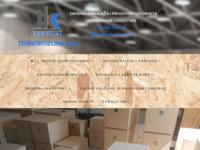 Slika naslovnice sjedišta: Tehnokozlina d.o.o. (http://tehnokozlina.hr)