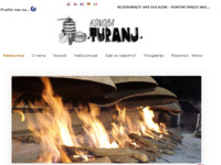 Frontpage screenshot for site: (http://www.konoba-turanj.hr)