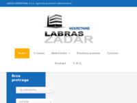Frontpage screenshot for site: Labras nekretnie (http://www.labras.hr/)