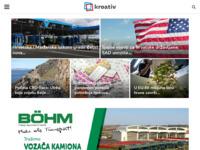 Slika naslovnice sjedišta: kroativ.at - Informativni portal Hrvata u Austriji (http://www.kroativ.at)
