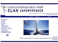 Slika naslovnice sjedišta: Centar za osnaživanje djece i odraslih - ELAN savjetovanje (http://www.elan-savjetovanje.hr)
