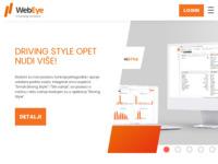 Slika naslovnice sjedišta: WebEye - Satelitsko praćenje vozila (http://hr.webeye.eu/)