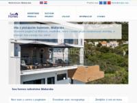 Frontpage screenshot for site: Sea homes - Agencija za promet nekretninama Makarska (http://www.seahomes.hr)