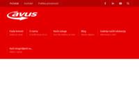 Slika naslovnice sjedišta: Avus d.o.o. (http://avus.hr/)