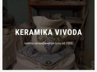 Slika naslovnice sjedišta: Keramika Vivoda (http://www.keramika-vivoda.hr/)