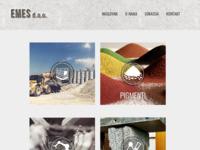 Slika naslovnice sjedišta: EMES d.o.o pigmenti za beton, aditivi za beton, betonare, kalupi (http://www.emes.hr)