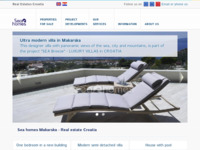 Frontpage screenshot for site: Sea homes Makarska - Agencija za nekretnine (http://www.seahomes.eu)