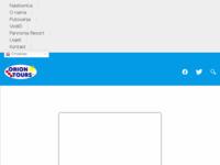 Frontpage screenshot for site: Turistička putovanja ORION TOURS d.o.o. (http://orion-tours.hr)