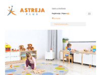 Frontpage screenshot for site: Astreja plus d.o.o. (http://www.astrejaplus.hr)