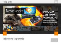 Frontpage screenshot for site: iSHOP (http://www.ishop.hr)