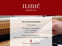 Slika naslovnice sjedišta: Obrt Ilinić (http://www.ilinic.hr)