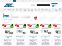Frontpage screenshot for site: MP-Elektronika (http://www.mp-elektronika.hr)