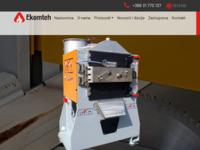 Slika naslovnice sjedišta: Proizvodnja drvenih peleta, strojevi za pelete Ekomteh (http://www.ekomteh.com.hr/)