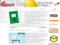 Frontpage screenshot for site: (http://www.dgit.hr)