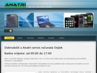 Slika naslovnice sjedišta: Anatri servis računala (http://www.anatri.hr)