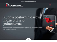 Frontpage screenshot for site: Domato LD d.o.o. (http://www.domatold.hr)