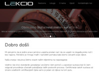 Slika naslovnice sjedišta: Lekcio (http://www.lekcio.hr)