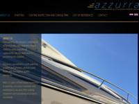 Frontpage screenshot for site: Azzurra - bojanje brodova i servis u Hrvatskoj (http://www.azzurra-yachtpainting.com)