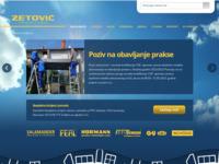 Slika naslovnice sjedišta: Zetović d.o.o (http://www.zetovic.hr/)