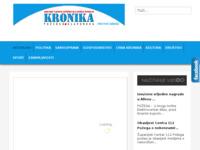 Frontpage screenshot for site: Kronika Požeško-slavonska (http://www.pozeska-kronika.hr)