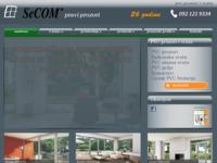 Slika naslovnice sjedišta: PVC stolarija SeCOM (http://www.prozorivrata.hr/)
