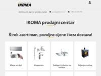 Slika naslovnice sjedišta: IKOMA - Trgovina građevnim materijalom (http://www.ikoma.hr)