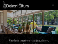 Slika naslovnice sjedišta: Dekori Šitum - Đakovo (http://www.situm-dekor.hr)