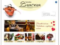 Frontpage screenshot for site: Konoba Bracera - Restaurant Kaptol Zagreb (http://www.konoba-bracera.hr/)
