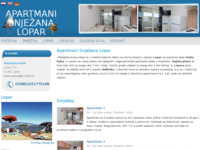 Frontpage screenshot for site: Apartmani Snjezana-Lopar (http://www.apartmani-snjezana-lopar.hr)