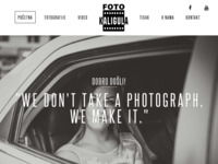 Frontpage screenshot for site: Vjencanja Kaligula - profesionalni foto i video studio za snimanje vjencanja (http://www.vjencanjakaligula.hr)