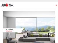 Slika naslovnice sjedišta: AluK Group - Sustavi aluminijskih profila i proizvoda za zaštitu od sunca (http://www.aluk.hr)