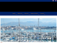 Frontpage screenshot for site: (http://www.adriatic-expert.hr)
