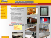 Slika naslovnice sjedišta: Inter laser d.o.o. (http://www.interlaser.hr)