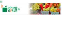 Slika naslovnice sjedišta: Udruga hrvatskih tržnica (http://www.uht.hr)