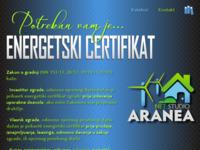 Slika naslovnice sjedišta: Net.studio Aranea (http://www.netstudioaranea.hr)