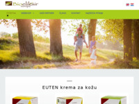 Frontpage screenshot for site: Bioeliksir Europa (http://www.bioeliksireuropa.hr)