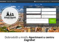 Frontpage screenshot for site: Mansarda apartman u centru Zagreba (http://www.zagreb-center.com)