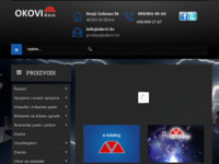 Slika naslovnice sjedišta: Dobro došli na stranice poduzeća Okovi d.o.o. (http://okovi.hr)
