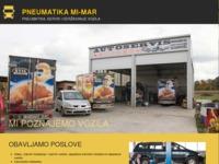 Slika naslovnice sjedišta: Pneumatika Mi-Mar (http://www.pneumatika-mi-mar.hr)