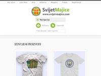 Frontpage screenshot for site: Majice sa natpisima - Šaljive Majice - Preslikači za Tisak na Majice (http://www.svijet-majice.com)