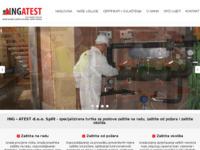 Slika naslovnice sjedišta: ING ATEST d.o.o. Split - zaštita na radu, zaštita od požara i zaštita okoliša (http://www.ingatest.hr/)