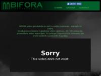Frontpage screenshot for site: BIFORA video produkcija (http://www.bifora-video-produkcija.hr)