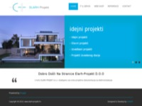 Frontpage screenshot for site: Elarh projekt (http://www.elarh-projekt.hr)