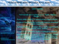 Slika naslovnice sjedišta: Inženjerski biro-revizija d.o.o. Zadar (http://www.inbire.hr/)