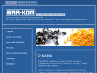 Frontpage screenshot for site: BRA-KOM - CNC obrada metala i izrada alata (http://bra-kom.hr)