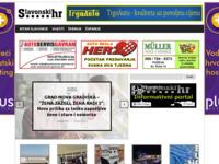 Frontpage screenshot for site: Ritam Slavonije (http://www.slavonski.hr)