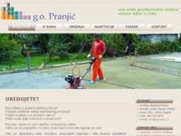 Slika naslovnice sjedišta: Gradnja objekata Pranjić (http://www.gradnja-objekata-pranjic.hr/)